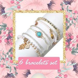 New 6 bracelet set